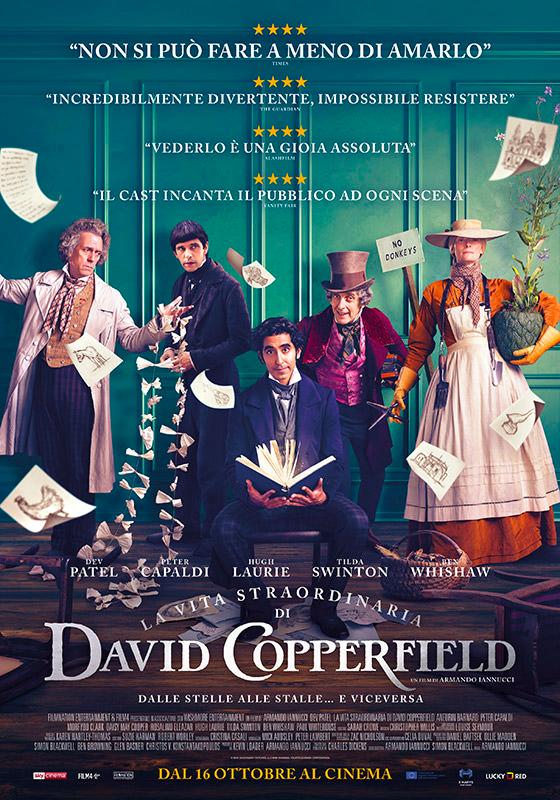 LA STRAORDINARIA VITA DI DAVID COPPERFIELD